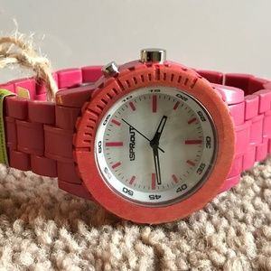 Sprout Women Watch Corn Resin Case Eco Friendly